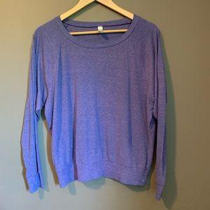 3 for $20!  American apparel Purple sweater